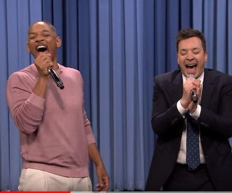 Smith, Fallon sing classic TV themes on 'Tonight Show'
