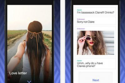 New app gives 'Snapchat generation' something new to read