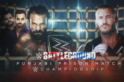 WWE Battleground: Jinder Mahal escapes Randy Orton, John Cena fights Rusev