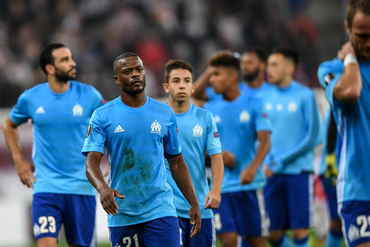Watch Marseille s Patrice Evra s ejected before game for