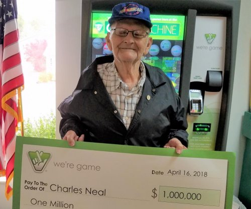 Repeat lottery winner collects $1M one month after $150,000 win