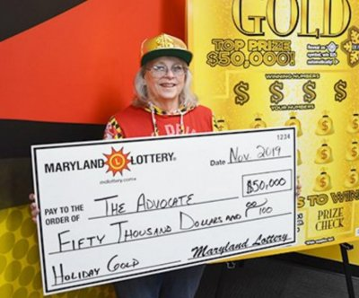 Woman wins her second $50,000 lottery jackpot in two months