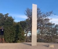 California monolith becomes the third to appear and disappear