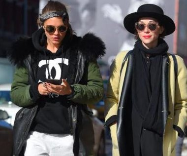 Cara Delevingne spotted strolling with St. Vincent in NYC