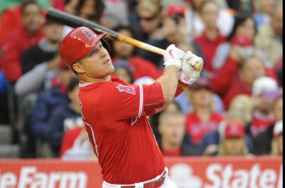 Los Angeles Angels' Mike Trout running hot