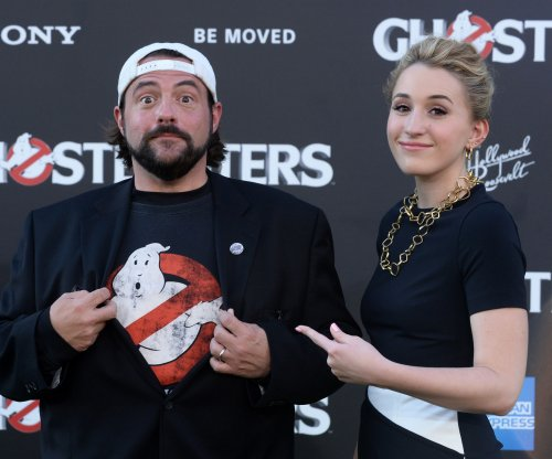 Mega-fan Kevin Smith says 'Suicide Squad' movie 'had me smiling the whole time'
