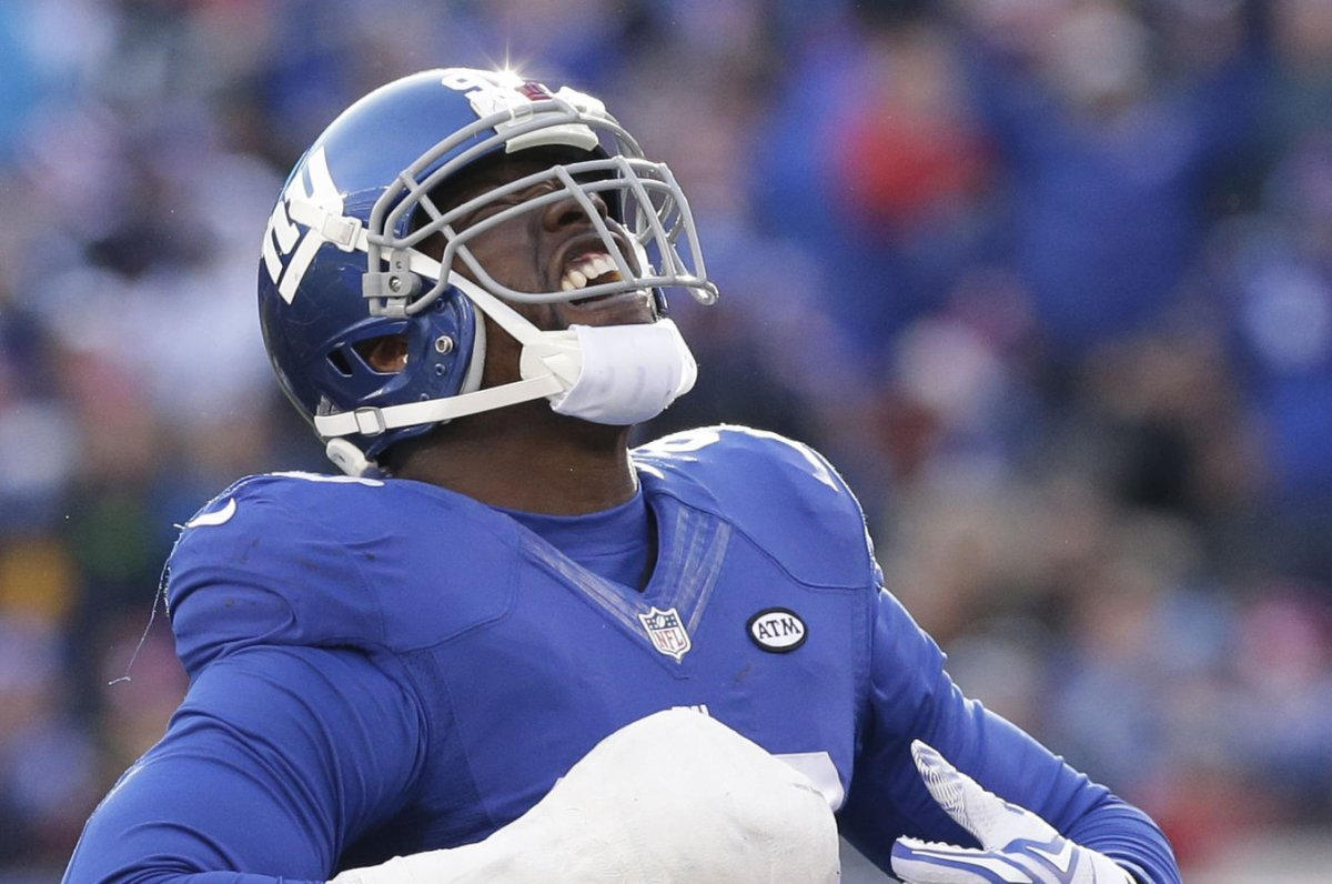 Jason Pierre Paul among 3 New York Giants injured UPI