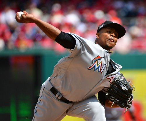 Miami Marlins' Edinson Volquez no-hits Arizona Diamondbacks