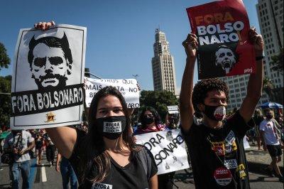 Protestors demand Bolsonaro's impeachment over vaccine scandal