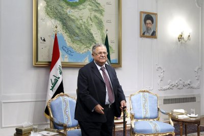 Iraq's president said to be in coma