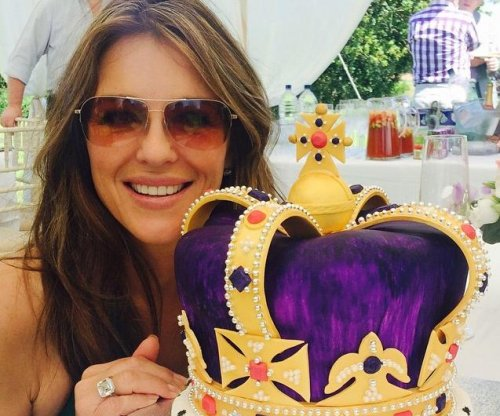 Elizabeth Hurley celebrates 50th birthday: 'I love my life'