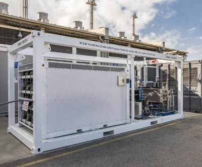 Boeing delivers fuel cell energy storage system to U.S. Navy
