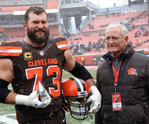 Cleveland Browns Pro Bowl OT Joe Thomas: 'I'm already having memory loss'