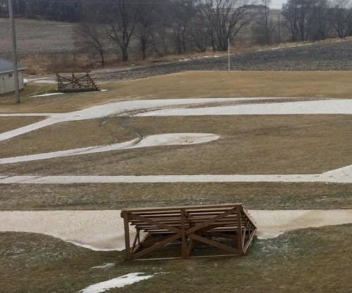 Vandals tear up 'Field of Dreams' field in Iowa