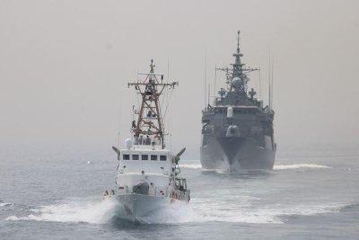U.S. Coast Guard, Greek navy conduct Arabian Sea exercises