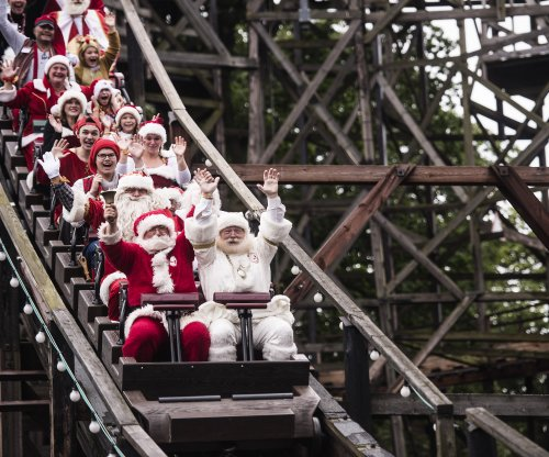 Hundreds of Santas gather in Denmark for World Santa Claus Congress