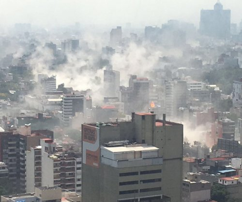 Buildings fall as 7.1-magnitude earthquake hits Mexico