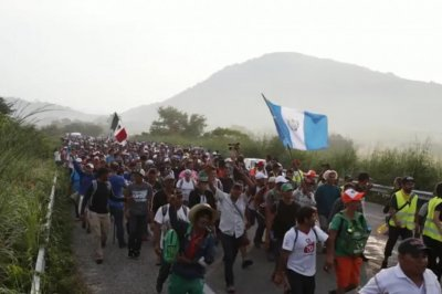 Migrant in 2nd caravan killed in Mexico clashes; 3rd group departs