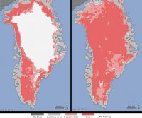 Extreme melt events can permanently alter structure of an ice sheet