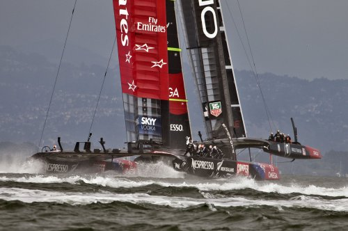 Team USA snaps New Zealand's winning streak in America's Cup Race 4