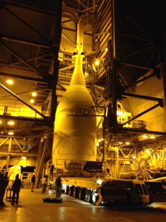 Time-lapse video shows Orion's move to Cape Canaveral launch pad