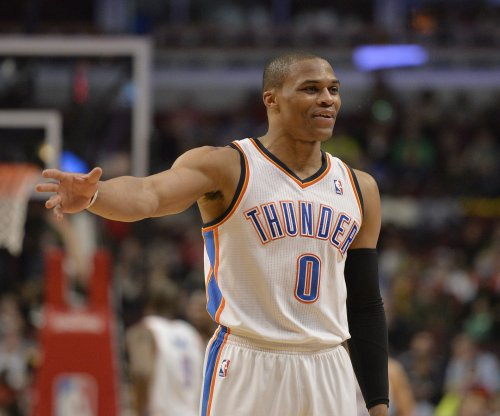 Russell Westbrook's triple-double, late hoop boosts Oklahoma City Thunder