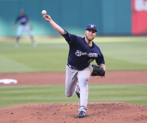Milwaukee Brewers edge San Diego Padres as Jimmy Nelson gets first complete game
