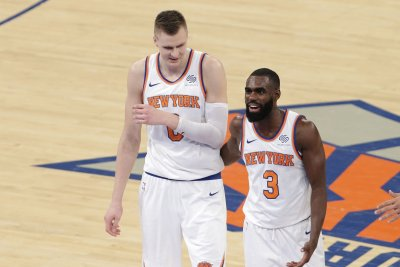Kristaps Porzingis, New York Knicks hang on to defeat Atlanta Hawks