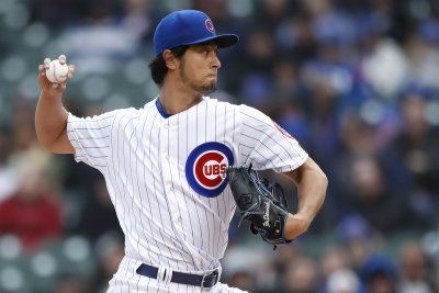 Darvish faces Brewers in quest for first win