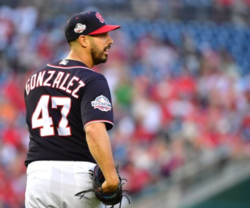 Nationals lean on veteran Gonzalez vs. Giants rookie Rodriguez