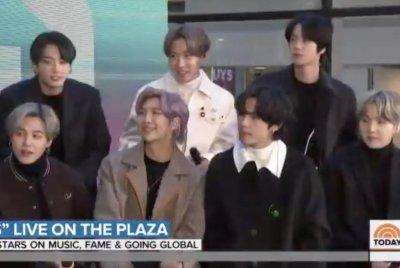 BTS celebrates album, video release on 'Today'