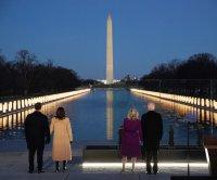 Biden, Harris call for healing in COVID-19 memorial ahead of inauguration