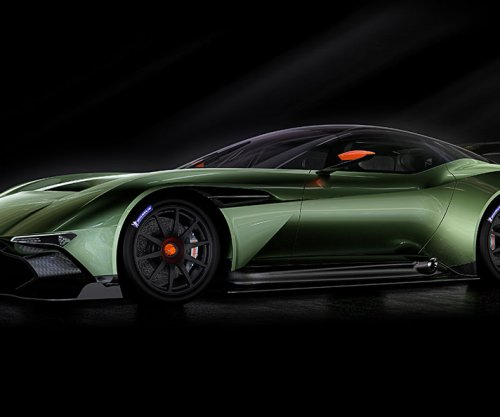 Aston Martin releases images of new 800-hp Vulcan