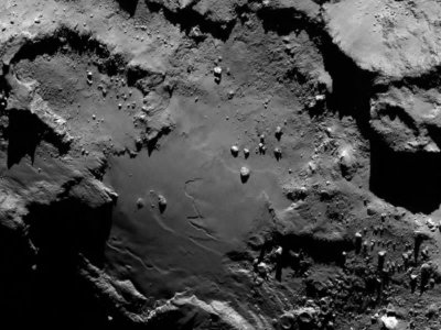 Does comet 67P host alien 'life'?
