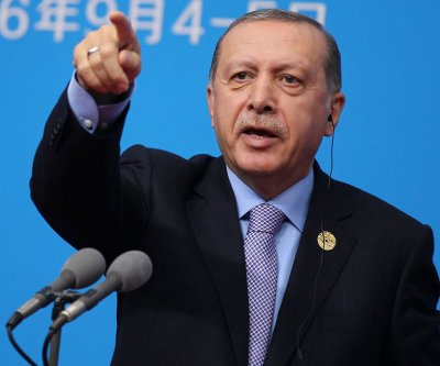 Supporters, opponents of Turkey's Erdogan clash in Washington