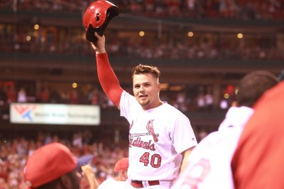 Hometown talent Luke Voit helps St. Louis Cardinals rout Miami Marlins