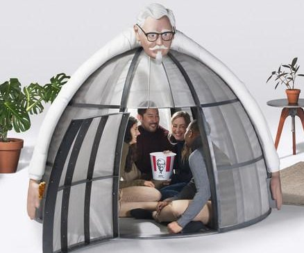 KFC 'Internet Escape Pod' blocks wireless signals