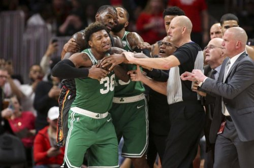 Celtics' Marcus Smart fined $35K for altercation with DeAndre Bembry