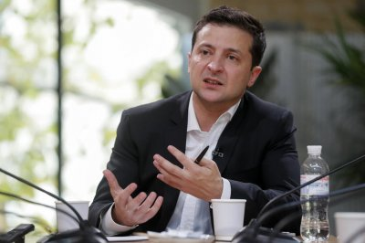 Ukraine leader Volodymyr Zelensky in hospital with COVID-19