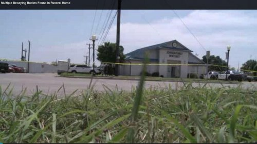 Texas mortuary moves, leaves behind eight dead bodies