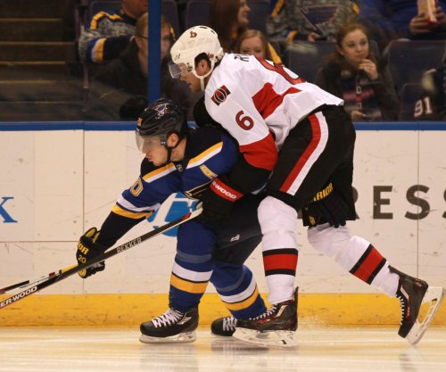 Ottawa Senators' Bobby Ryan out indefinitely with finger injury