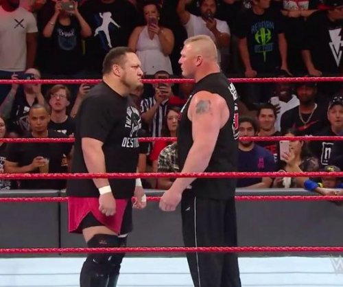 WWE Raw: Brock Lesnar returns for epic brawl with Samoa Joe