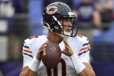 Mitchell Trubisky enjoys contributing to Chicago Bears' OT win over Baltimore Ravens