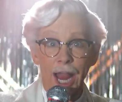 Reba McEntire plays Colonel Sanders in new KFC commercial