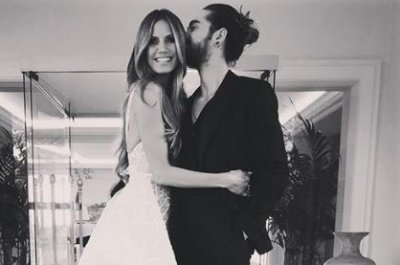 Heidi Klum, Tom Kaulitz make red carpet debut in Cannes