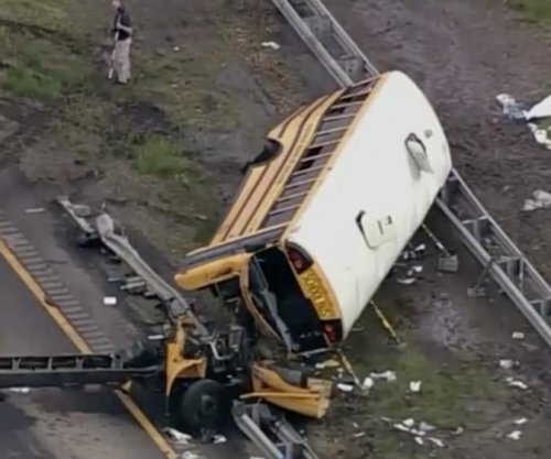 Driver in N.J. school bus crash had multiple license suspensions