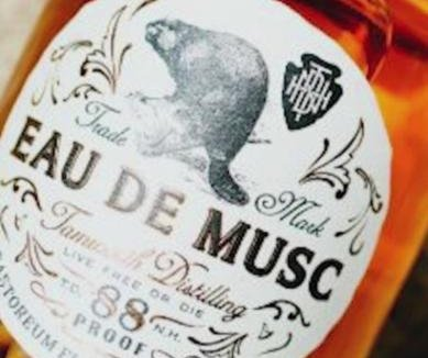 New Hampshire distillery's bourbon flavored with beaver secretions