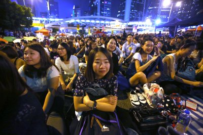 Hong Kong bans political party that called for violent revolution