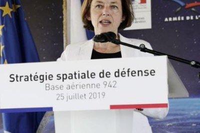 France announces space defense program