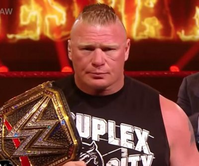 WWE Raw: Brock Lesnar, Edge make WrestleMania promises